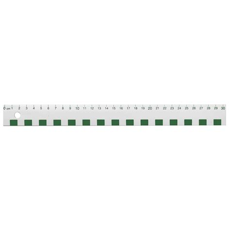 Lenschirm 30 Cm by White Plastic Primary 30 Cm Ruler Cm Markings Only