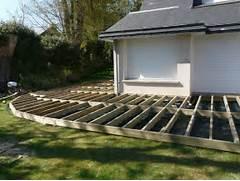 pose terrasse bois ou composite diverses - Comment Monter Une Terrasse En Composite
