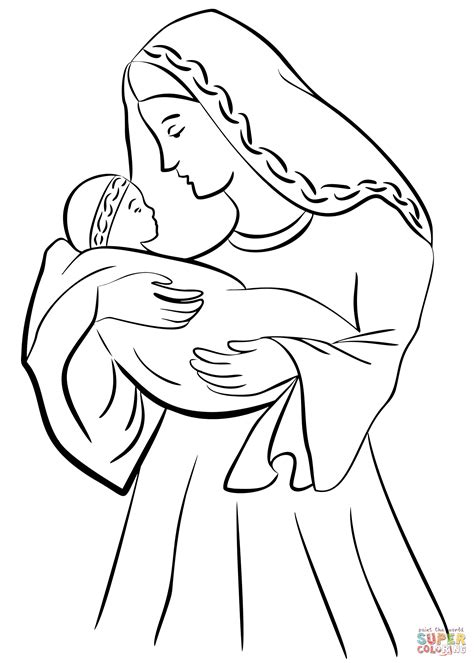 Baby Jesus Drawing At Getdrawingscom Free For Personal