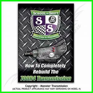 Complete 700r4 Transmission Rebuild Dvd