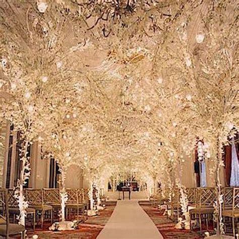 Wedding Aisle Decorations Winter Wedding Decoration