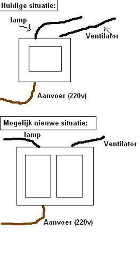 badkamer ventilator tijdschakelaar badkamerventilator met naloop