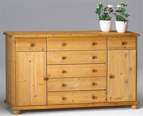 Sideboard Anrichte Kommode Schubladen Schrank Massiv Holz