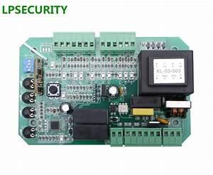 Lpsecurity Sliding Gate Opener Motor Pcb Controller
