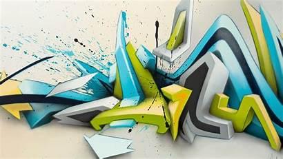 Graffiti 3d Daim Abstract Mirko Wave Reisser