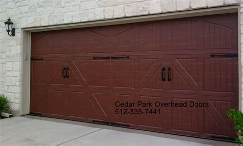 cedar park garage doors carriage style garage doors cedar park overhead doors