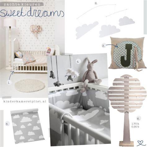 zachte kleuren inspiratie voor de kinderkamer babykamer