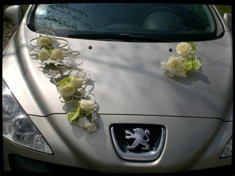 deco voiture de mariee bouquet de mari 233 e d 233 coration de voiture d floral