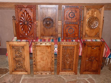 carved kitchen cabinet doors new mexico style door panel choices by carved custom 5130