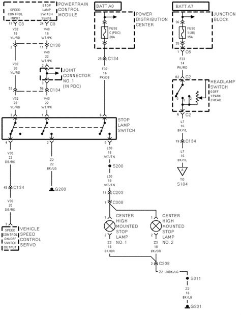 Dodge 2500 Dome Light Wiring Diagram by I 1998 2500 Dodge The Stoplights Quit Working