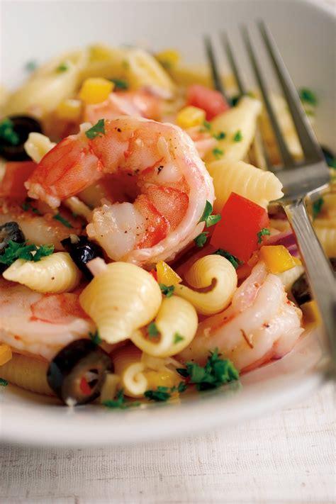 shrimp  pasta salad recipe relish