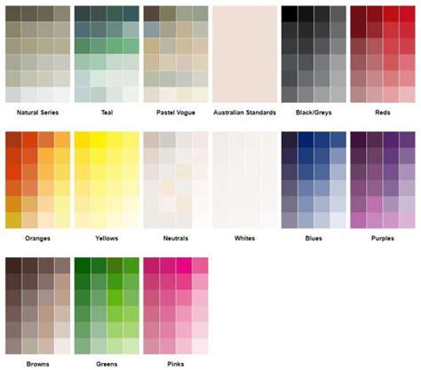 home paint colour chart haymes paint