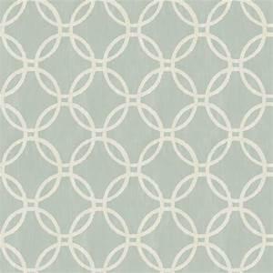 Ecliptic Blue Geometric Wallpaper