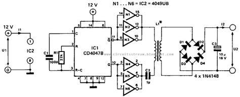 Low Power Converter Circuit Diagram Electronic