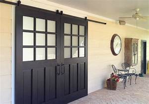 architectural accents sliding barn doors for the home With barn doors over sliding glass doors