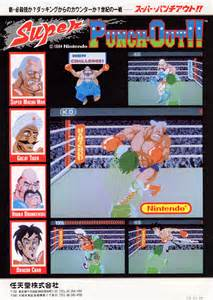 Super Punch Out Arcade Game