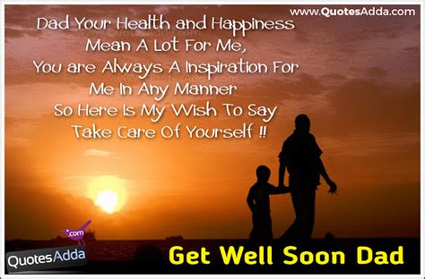 Quotes Get Well Soon Father