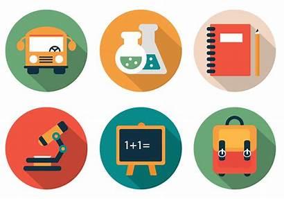 Icons Vector Flat Clipart Vectors Graphics Illustration
