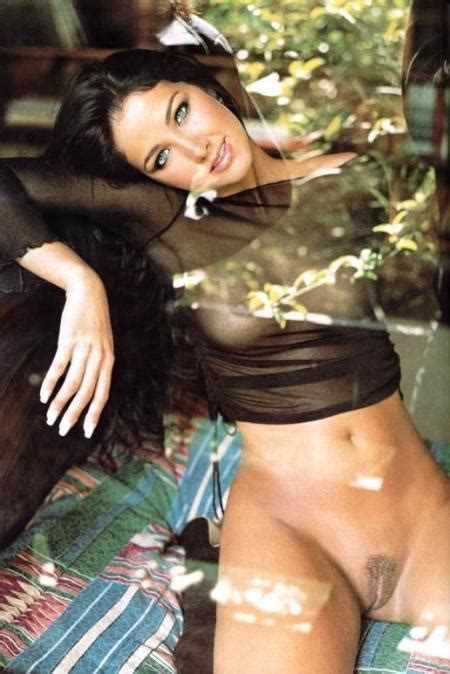 Naked Helen Ganzarolli In Playboy Brasil