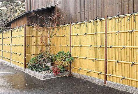 desain pagar bambu rumah minimalis rumah minimalis