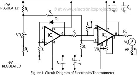 Thermometer Circuit Page Meter Counter Circuits Next