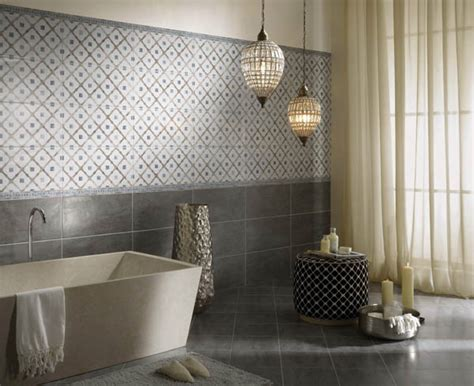 patterned kitchen wall tiles 2016 beautiful bathroom ideas to try this new year 4107
