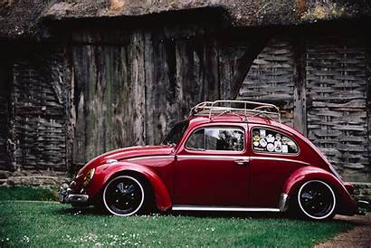 Beetle Volkswagen Daytime During Side