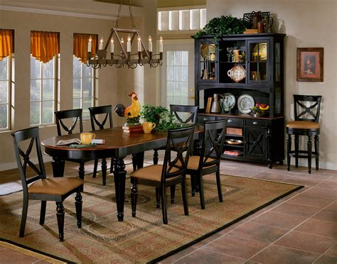 Black And Brown Dining Room Sets  Home Design Ideas