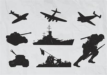 War Plane Vectors Planes Clipart Silhouette Guerra