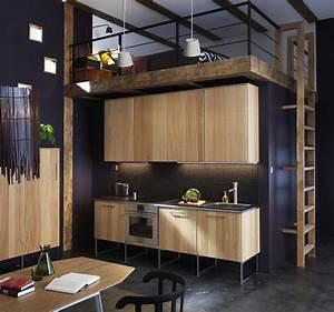 Ikea metod kitchen flodeau for Idee deco cuisine avec meuble cuisine noir et bois