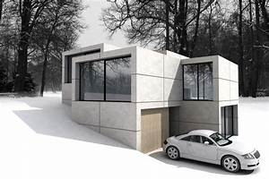 Split Level Haus : split level haus am hang hausideen pinterest haus ~ Buech-reservation.com Haus und Dekorationen
