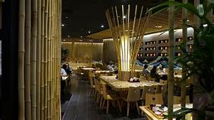 Bamboo Restaurant Design For Japanese Concept With Unique