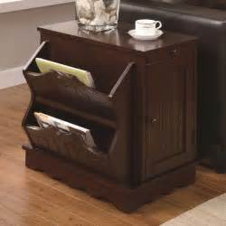 canister kitchen set a modern chairside table with magazine rack and drawer