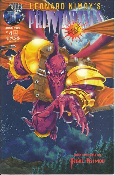 leonard nimoy comic book leonard nimoy s primortals 4 a jun 1995 comic book by