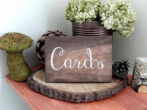 Wedding Card Sign- Shower Card Sign- Wedding Gift Table ...