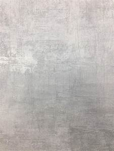 Les Murs Metallic Polished Concrete Look Wallpaper