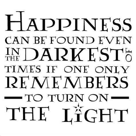 Dumbledore Light Quote by Albus Dumbledore Quotes Happiness Quotesgram