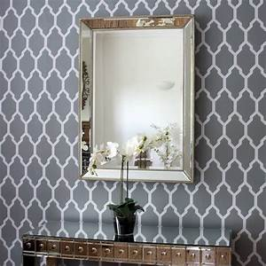 Beaded Champagne Silver Or Gold Mirror By Decorative Mirrors Online