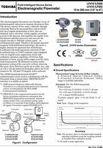 Toshiba Lf410lf602 Lf410 Ejl114b  User Manual To The
