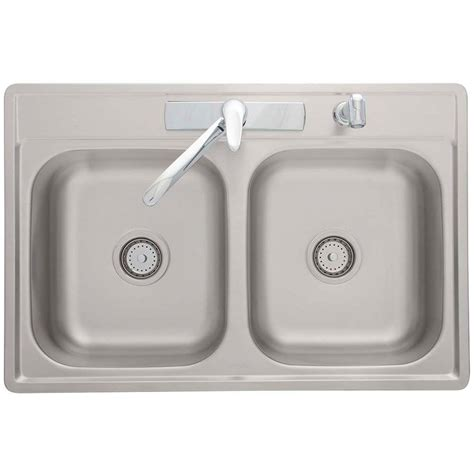 Franke Sink Home Depot by Franke Drop In Stainless Steel 33x22x7 4 Basin