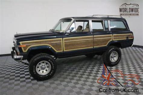 1989 jeep wagoneer lifted 1989 jeep wagoneer lifted v8 ac auto