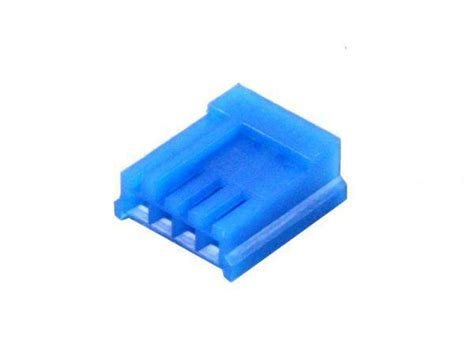 4 Pin Floppy Connector Male Uv Blue Coolerkit No
