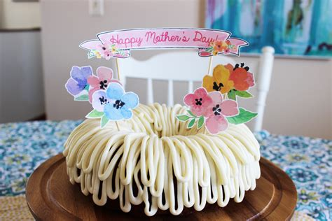 71 mother's day cake recipes. Top 5 DIY Mother's Day Cake Ideas all with FREE Printable toppers!