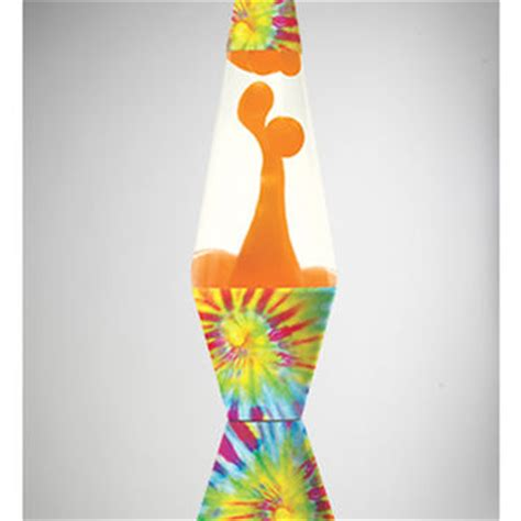 tie dye with orange lava 32oz lava l from spencers gifts