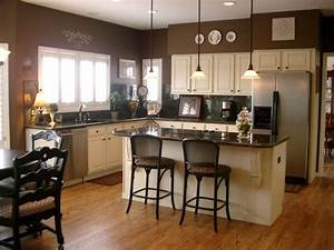 best 25 brown walls kitchen ideas on pinterest brown With kitchen colors with white cabinets with van gogh wall art