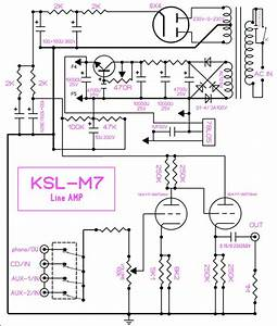 Famous Circuit Audio K M7 Tube Preamplifier Diy Kit Preamp