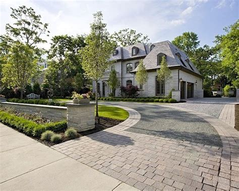 Curb Appeal  My Dream House!!  Pinterest  Driveway