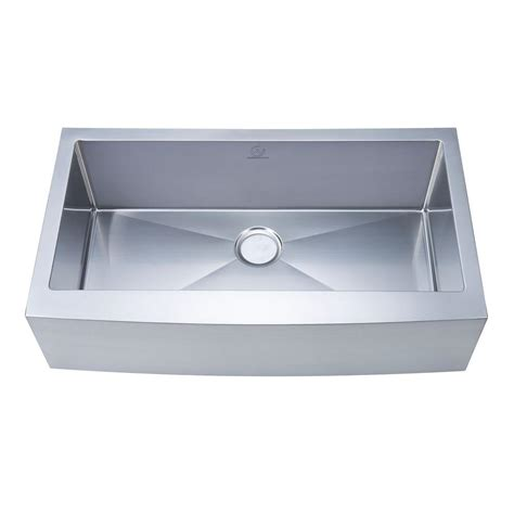 36 stainless steel sink stufurhome nationalware apron farmhouse stainless steel 36