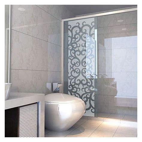 donnez une touche baroque 224 la d 233 coration de votre salle de bain avec ce sticker pour paroi de