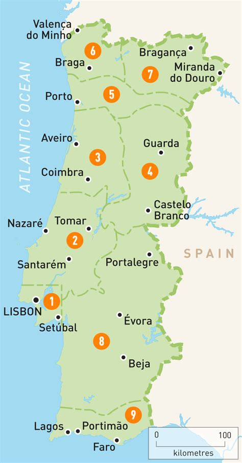map  portugal portugal regions rough guides rough